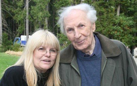 S Alenou herec žil 33 let. Byla při něm až do poslední chvíle.