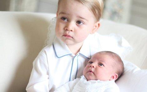 Charlotte i její bráška mají pro Británii obrovskou hodnotu.