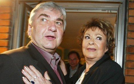 Miroslav Donutil a Jiřina Bohdalová: Oba dva už jednou omylem pohřbili.