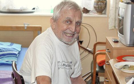 Aktuální snímek Jaroslava Čejky v kobyliském domě pro seniory