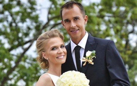 Michaela a Lukáš dostáli všem svatebním tradicím.