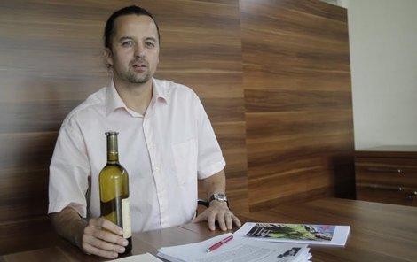Ondřej Mikeš (37) z Brna Šéfuje světovým vinařům!