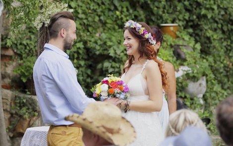 Jitka Válková měla úplně obyčejnou svatbu na Vysočině.