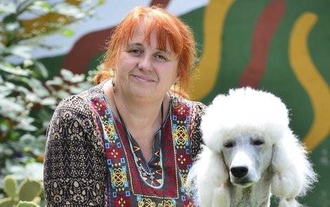 Psí léčitelka A. Kocmánková.