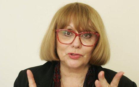 I přes nepřízeň osudu se Naďa Urbánková snaží myslet pozitivně.