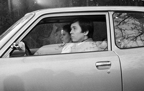 V autě z Tuzexu se svezla i sestřička Inna – Andrea Čunderlíková.