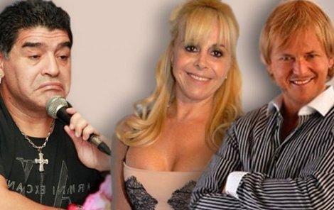 Napálený Diego, pelešnice Claudia a milenec Jorge.