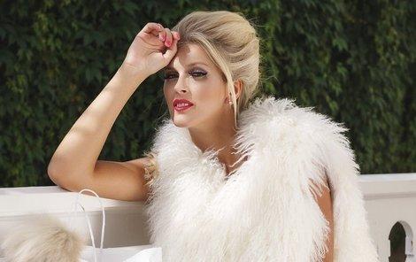 Hejdová se stala tváří luxusní značky s kožešinami.