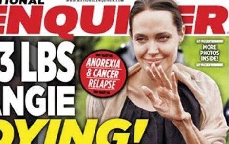 Angelině Jolie zbývají dva měsíce života?