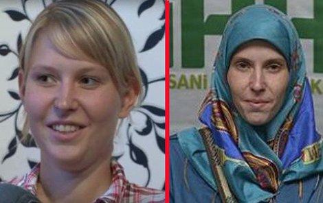 Antonie Chrástecká v roce 2015 a po propuštění ze zajetí v březnu 2015. Jak vypadá dnes?