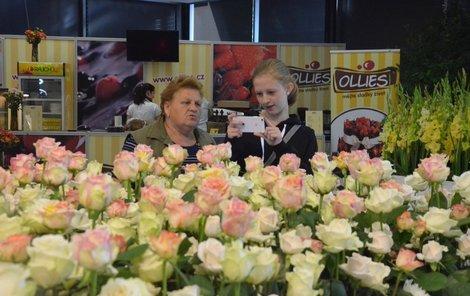 Největším tahákem letošní letní Flory jsou růže.