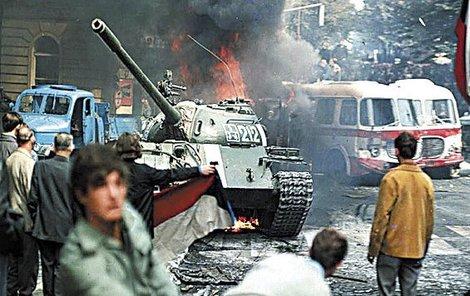 Dne 21. srpna 1968 přijely do Československa sovětské tanky.