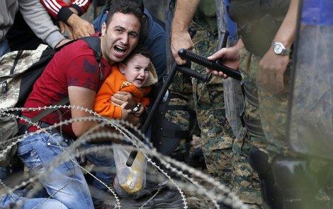 Makedonie zavřela hranice!