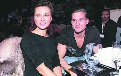 Inna Puhajková s přítelem Petrem Tlustým