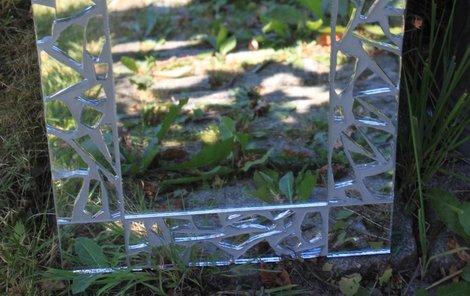 Vyrobte si zrcadlo ze starých střepů!