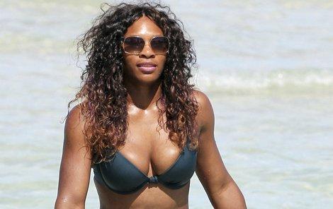 Serena Williamsová má mužům co nabídnout.
