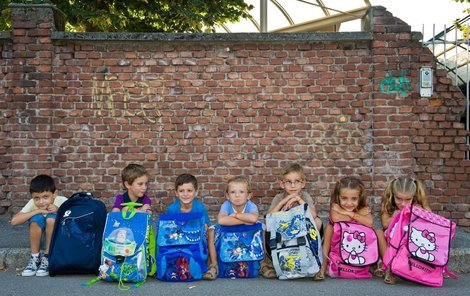 Na první školní den se musí připravit rodiče i děti.