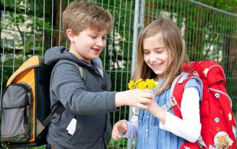 Dětem hrozí ve škole řada úrazů.