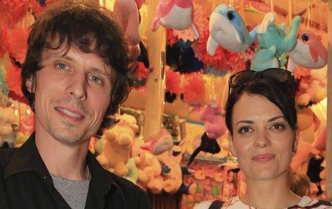 Jana Stryková a Matěj Matuška vyrazili na večírek.