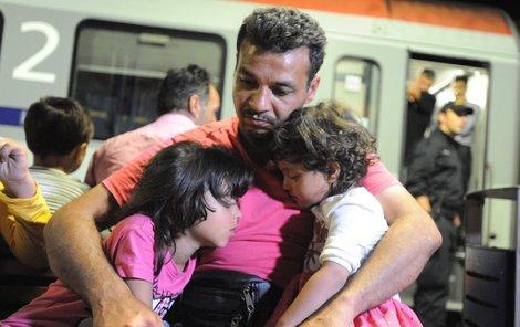 V poslední vlně uprchlíků dorazilo do Česka i hodně dětí.