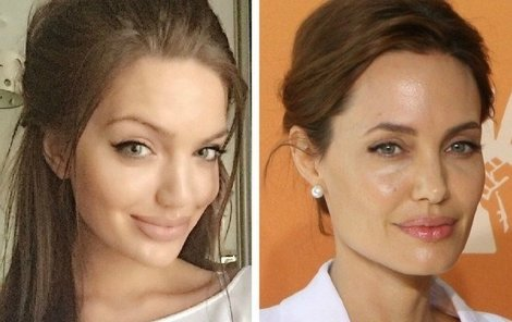 Vlevo je Chelsea, vpravo Angelina.