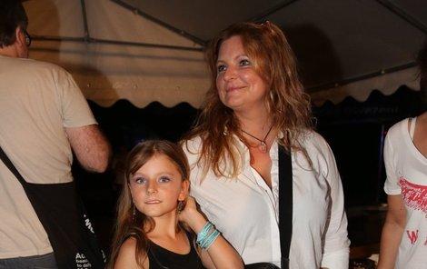 Na vzpomínkový festival Kouřimská skála vzala Eva Muková i dceru.