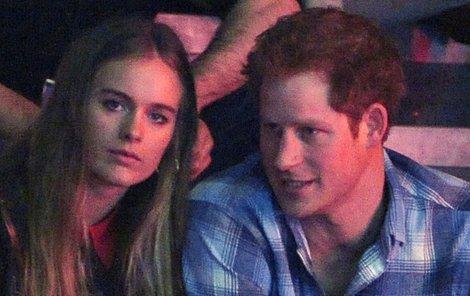 Harry a Cressida spolu chodili 2013 až 2014.