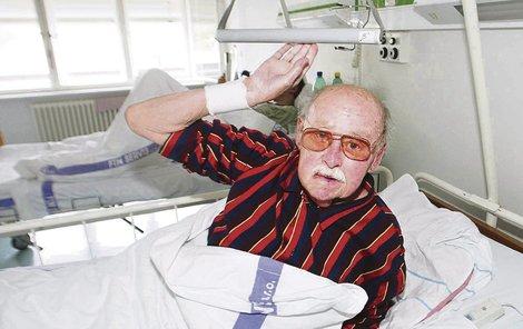 Lubomír Lipský už potřetí bojuje o život.
