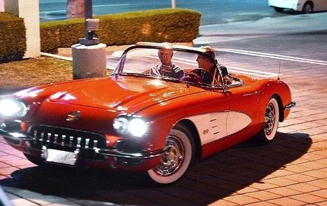 Chevrolet Corvette z roku 1958.