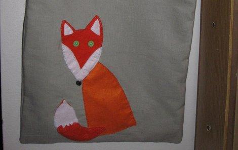 Hotová taška s liškou.