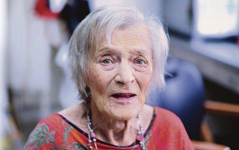 Luba Skořepová byla po půlroce v nemocnici zase mezi lidmi.