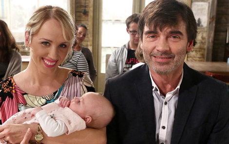 Seriálová dcera Klárka je téměř stejně stará jako hereččin syn.