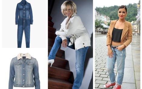 Džínové modely pro letošní podzim! Vyberete si?