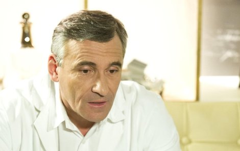 Jako MUDr. David Suchý v Ordinaci.