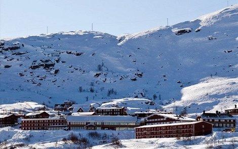 Švédský Riksgränsen, nejsevernější lyžařské středisko na světě