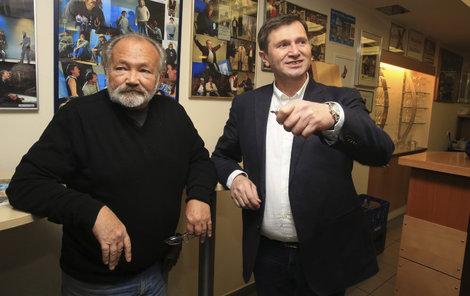 2015. Bratři Rudolf (vlevo) a Jan by tatínka nepotěšili.