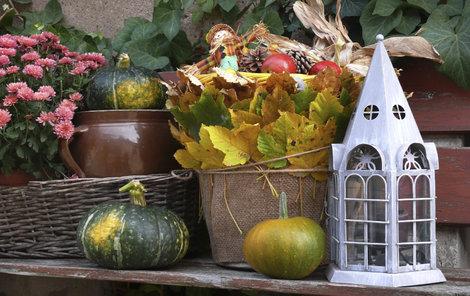 Vyrobte si podzimní zátiší.