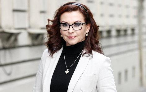 Herečka Dana Morávková (44) chodí do společnosti vždy perfektně upravená.