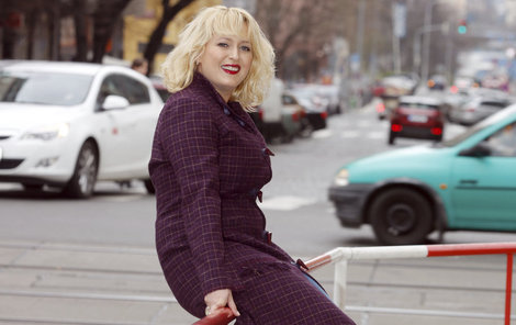 Miluška Bittnerová (37) má ráda módu a šatník neustále doplňuje.