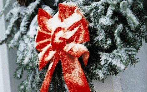Vánoce by letos mohly být bílé i ve městech.