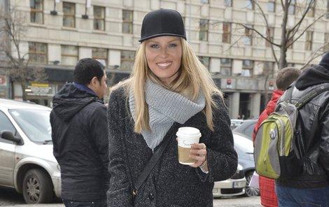 Simona Krainová (42) má ráda jednoduchý styl a čisté linie.