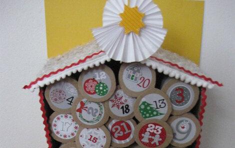 Jak vyrobit ruličkový adventní kalendář?