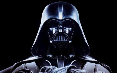 Darth Vader z kultovních Hvězdných válek.