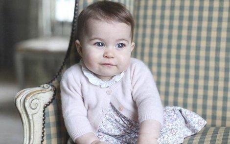 Malá Charlotte jako princezna modroočka