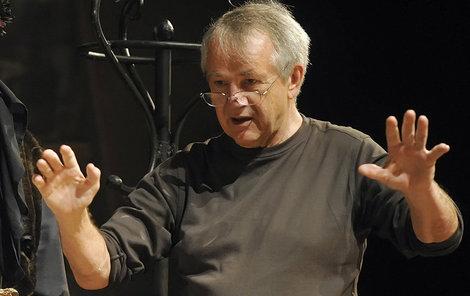 První polistopadový šéf činohry Národního divadla v Praze Ivan Rajmont (na snímku z 8. října 2013).
