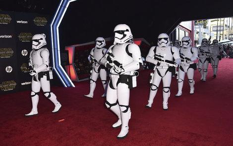 Vojáci Galaktického impéria nemohli chybět!