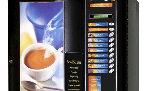 Káva z automatů není zdaleka tak kvalitní...