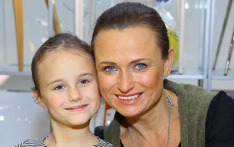 Jana Adamcová s dcerou Jasminkou