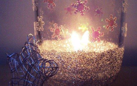 Vyrobte si zimní světýlko podle naší čtenářky.