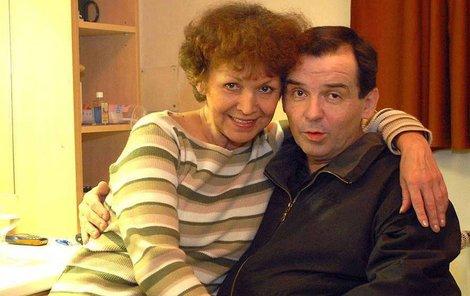 Eva Gorčicová s Erikem Pardusem.